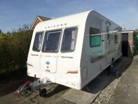 Bailey Unicorn Valencia, 4 berth, (2011) Used - Good condition Touring Caravan for sale |
