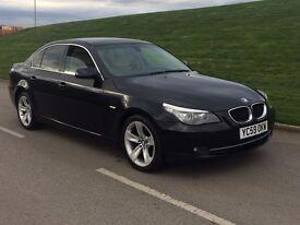 2009 59reg BMW 5 SERIES 2.0 520d SE Business Edition 4dr AUTO **xenon,LTHR,SATNAV,PARKING*1 OWNER