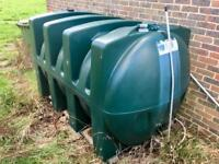 Titan Tank - 2500 Litre - Diesel Gas Oil Heating Oil - Home Boiler Outdoor