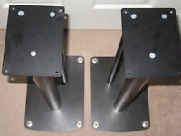 Soundstyle Z2 speaker stands black