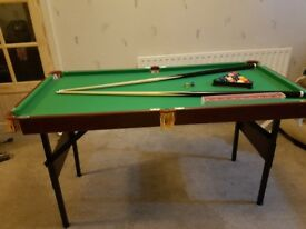 Snooker Pool Table for Sale