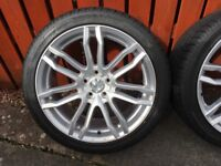 "18"" 5x108 mint condition"