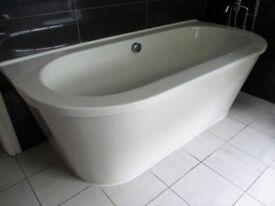 Contemporary bathroom suite by Bathstore