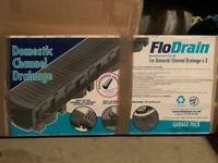 New - Floplast Flodrain drainage x2 boxes