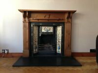 Victorian Style Fireplace & Surround