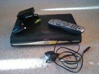 Sky hd box with sky hd on demand box, included