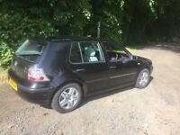 VW GOLF 1.6SR, V REG, MOT DECEMBER, 130K MILES, GOOD CONDITION, GREAT RUNNER £375 KILMARNOCK