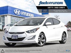 2015 Hyundai Elantra GLS MANUAL | Power sunroof | back up cam...