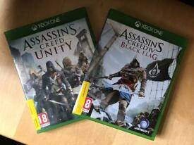 Assassin's creed Black Flag and Unity
