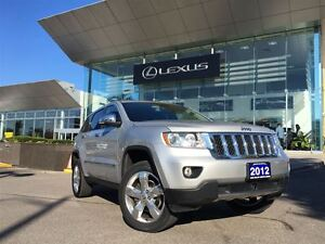 2012 Jeep Grand Cherokee Overland AWD NAVIGATION LEATHER SUNROOF