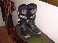 Styl Martin, Motorcycle Boots. motocross, size 8 excellent condition