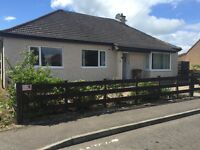4 bedroom bungalow-Broxburn. Available end of July.
