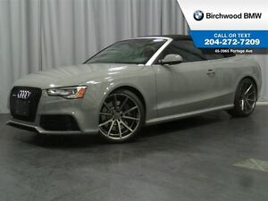 2014 Audi RS 5 2dr Conv Vossen Wheels! NO ACCIDENTS!