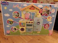 Peppa Pig House Kitchen - 21 piece playset - In original box