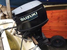 Dell Quay Dory 13 Suzuki 13 project boat with trailer