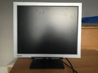 A 19 inch LCD ATMT computer monitor