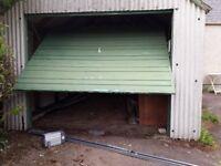 Garage Door + remote MERLIN