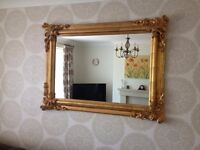 Home Sence Gold Framed Mirror