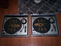 Technics SL1200mk2 Turntables
