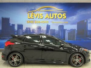 2016 Ford Focus TURBO CUIR RÉCARO GPS TOIT OUVRANT 46700 KM !