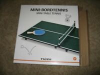 minibordertennis - mini table tennis