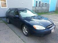 2002 Ford Taurus SE Deluxe Wagon