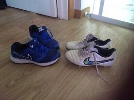Nike trainers &boots 7uk