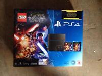 Brand New PlayStation 4 500gb StarWars bundle force awakens