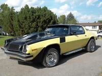Chevrolet CAMARO style ¨Bumble bee¨  attire tous les regards!