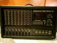 Johnson sound display