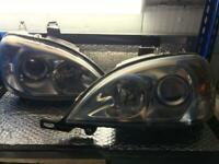 Mercedes Xenon Headlights ML270 ML320 ML430 W163 2001-2005, used for sale  Horley, Surrey