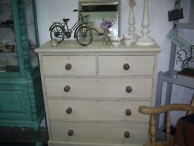 CHEST OF DRAWERS ANNIE SLOAN OLD OCHRE