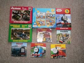 THOMAS THE TANK ENGINE JIGSAWS AND BOOKS