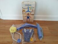 Lindam Blue Baby Door Bouncer Plus