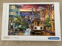 Puzzle San Francisco 3000 piece Clementoni