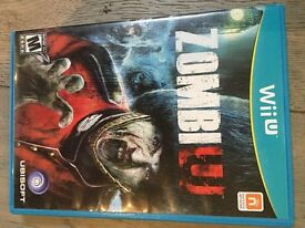 ZombieU game for WiiU.