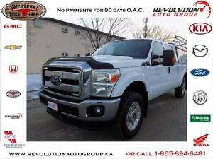 2012 Ford Super Duty F-250 XLT CREW CAB 4X4
