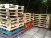 All sizes of WOODEN PALLETS for sale. Great for DIY wood and pallet projects. Can deliever locally.