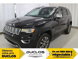 2018 Jeep Grand Cherokee Overland DEMO*CUIR*TOIT*GPS*CAMÉRA*A/C*