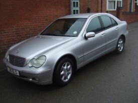 MERCEDES C-CLASS COMPRESSOR AND FREE PRIVATE PLATE