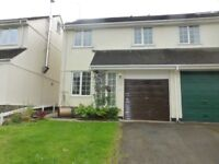 lovely 3 bed semi-detached house for rent in Bow Creek, Nr Totnes