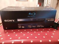 Sony BDP-S350 Blu Ray player - boxed - VGC