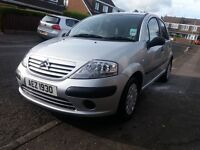 Citroen C3 2004 Mot'd june 2017