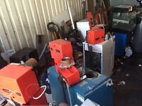 Oil boilers/ burners for sale