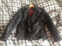 Mens Leather jacket XS Genuine leather