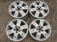 Ford Mondeo Ghia 16'' Alloy Wheels x 3 ( 5 Stud) - Part Refurbished (Focus/Smax/Cmax)