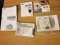 Nikon D5100 18-105mm dslr camera