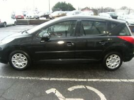 DIESEL !!! 2010 10 PEUGEOT 207 1.6 HDI SW S 5D 90 BHP***GUARANTEED FINANCE***PART EX WELCOME***