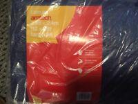Heavy duty Amtech tarpaulin, 12ft x 8ft, brand new in packaging, blue.
