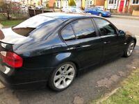 BMW E90 320d SE, Black, excellent car